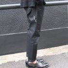 More photos1: 赤耳(セルヴィッチ)黒×黒デニムペインターアンクルパンツ【MADE IN JAPAN】『日本製』【送料無料】 / Upscape Audience