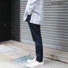 More photos3: 藍×墨灰 ジンバブエストレッチデニムアンクルパンツ【MADE IN JAPAN】『日本製』/ Upscape Audience
