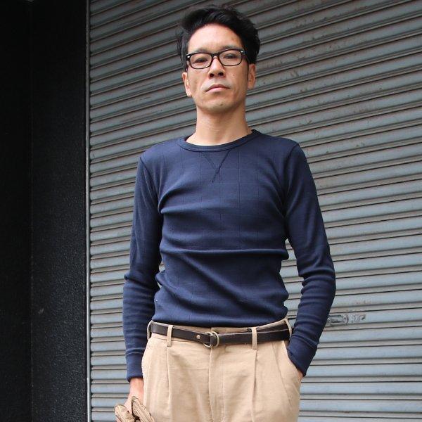 画像2: ファインクォーターチェックプロテクトボッシュガゼットC/Nカットソー【MADE IN JAPAN】『日本製』/ Upscape Audience