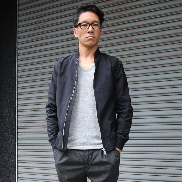 画像2: ヴィンテージナイロンオックス MA1ブルゾン【MADE IN JAPAN】『日本製』 【送料無料】 / Upscape Audience