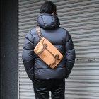 More photos1: 国産キャンバス×レザーフィッシングミニショルダーバッグ 【送料無料】 / VASCO