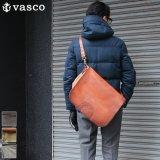 キャンバス×レザー メールバッグ【MADE IN JAPAN】『日本製』【送料無料】  / vasco