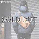 国産キャンバス×レザーフィッシングミニショルダーバッグ 【送料無料】 / VASCO