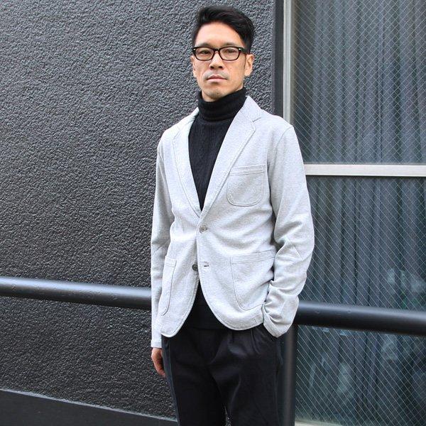 画像2: ミラノリブ2ボタンテーラードジャケット【MADE IN JAPAN】『日本製』【送料無料】 / Upscape Audience