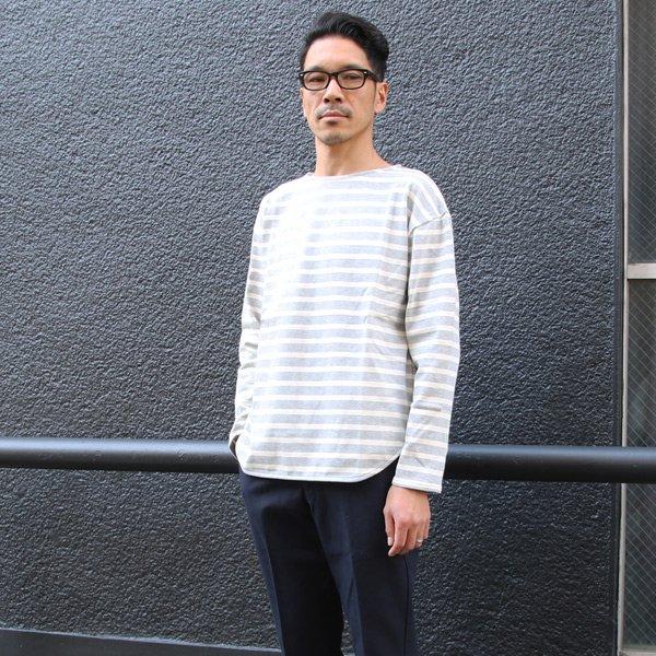 画像2: ヘビーウェイト天竺ボートネックビックカットソー長袖【MADE IN JAPAN】『日本製』 / Upscape Audience
