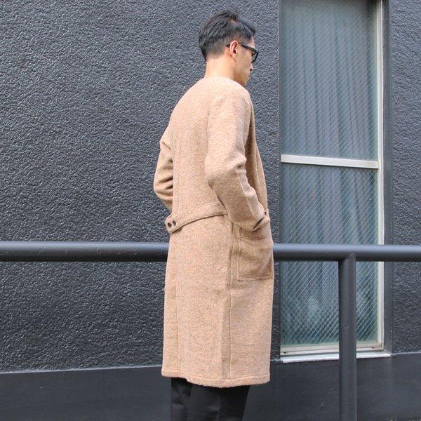 画像2: スライバーニットミルドキモノガウンコート【MADE IN JAPAN】『日本製』【送料無料】 / Upscape Audience