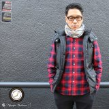 【RE PRICE/価格改定】ボヤージュジャガードネックウォーマー/キャップ【MADE IN JAPAN】 / Upscape Audience