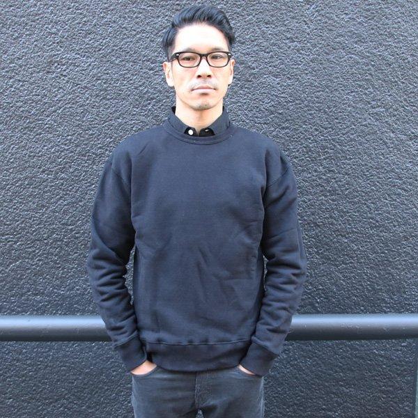 画像2: 度詰裏毛ドロップショルダークルーネック長袖スウェット【MADE IN JAPAN】『日本製』/ Upscape Audience