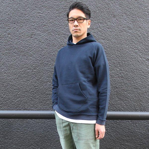 画像2: スウェット サドルショルダー フードプルオーバー L/S 【MADE IN JAPAN】『日本製』/ Upscape Audience