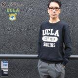 """UCLA""""UCLA EST.1919 BRUINS""""クルーネック長袖ライトスウェット / Audience"""