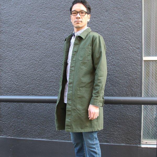 画像2: ヘビーオックスカバーオーステンカラーコート【MADE IN JAPAN】『日本製』/ Upscape Audience