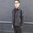More photos2: ギャバジンストレッチ コーチステンカラージャケット『日本製』【送料無料】  / Upscape Audience