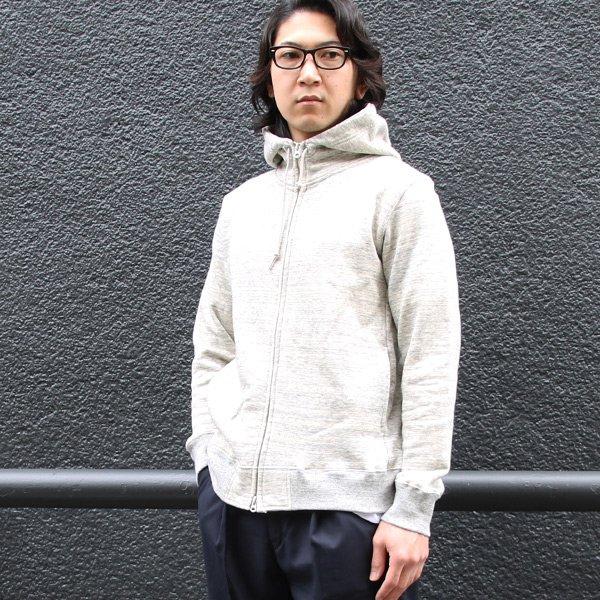 画像2: 度詰裏毛フードスタンドブルゾン 【MADE IN JAPAN】『日本製』【送料無料】/ Upscape Audience