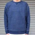 More photos1: 本藍染裏毛 ガゼットC/N L/S スウェット【MADE IN TOKYO】『東京製』/ Upscape Audience