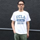 "More photos1: 6.2oz丸胴UCLA""EST1919""オールドプリントTEE / Audience"