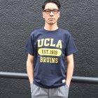 "More photos3: 6.2oz丸胴UCLA""EST1919""オールドプリントTEE / Audience"