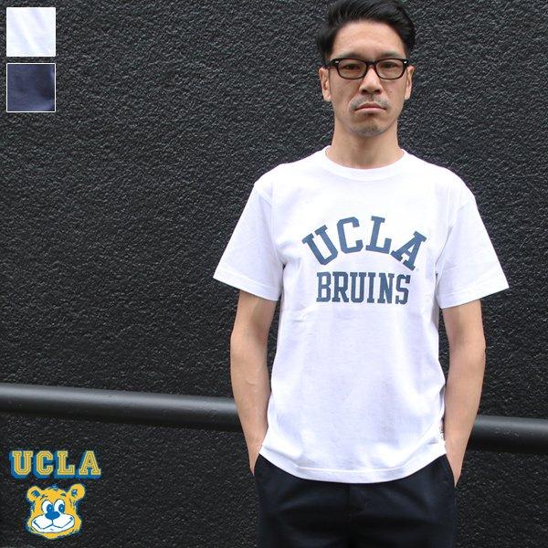 """画像1: 6.2oz丸胴UCLA""""BRUINS""""オールドプリントTEE / Audience"""