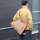 More photos1: キャンバスレザーシティーメールバッグ 【送料無料】 【RE-STOCK】 / vasco