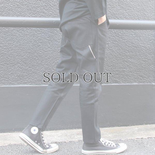 画像2: 赤耳(セルヴィッチ)黒×黒デニムペインターアンクルパンツ【MADE IN JAPAN】『日本製』【送料無料】 / Upscape Audience