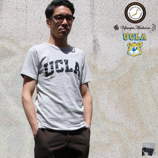 """画像1: 【RE PRICE / 価格改定】UCLA """"UCLA""""日本製ボディクラックプリント半袖Tシャツ / Upscape Audience"""