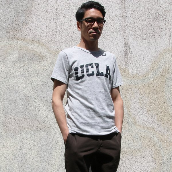 """画像2: 【RE PRICE / 価格改定】UCLA """"UCLA""""日本製ボディクラックプリント半袖Tシャツ / Upscape Audience"""
