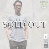 "UCLA""UCLA 19 BRUINS""三素材混カレッジプリント半袖クルーネックTシャツ / Audience"