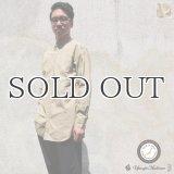 スーピマタイプライターナショナルコスチュームバンドカラーL/Sシャツ【MADE IN JAPAN】『日本製』/ Upscape Audience