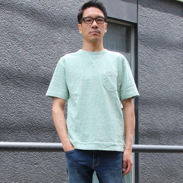 画像2: 吊編天竺 C/Nガゼット 胸ポケ付 Tee【MADE IN TOKYO】『東京製』  / Upscape Audience