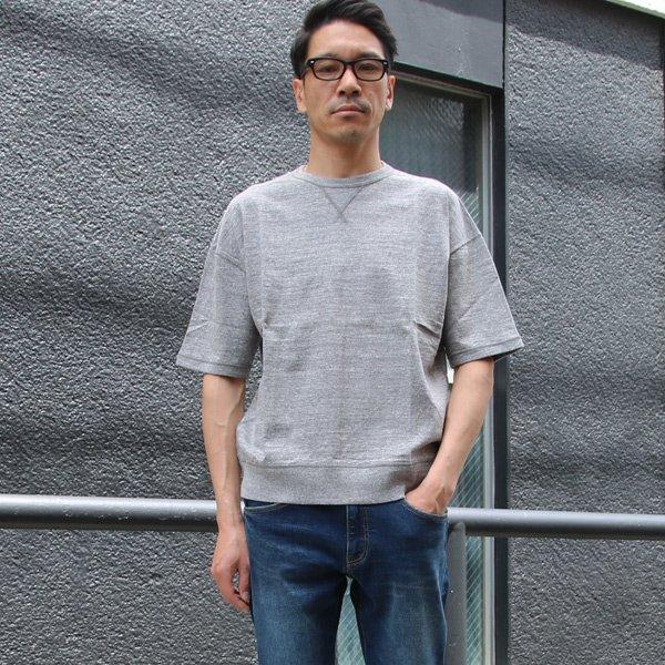 画像2: 吊り編み天竺ガゼットC/N スウェット ビッグ 5/S TEE【MADE IN TOKYO】『東京製』  / Upscape Audience【一部予約販売・2019年4月上旬入荷予定】