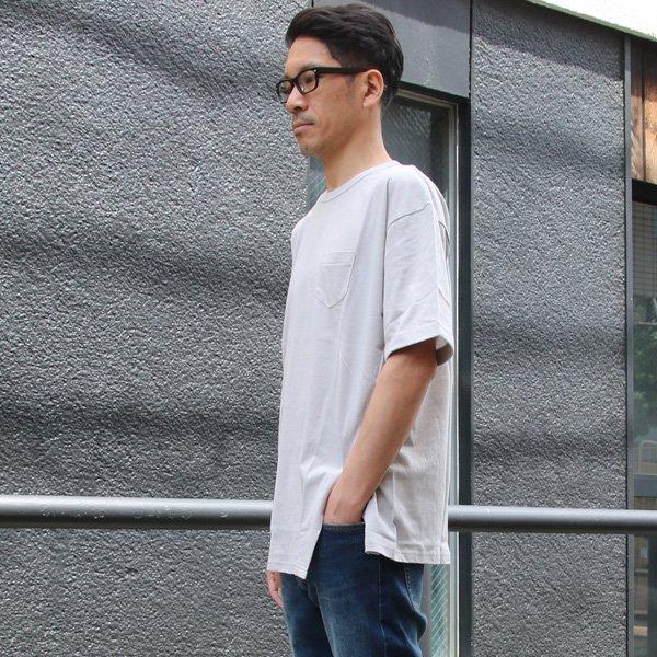 画像2: コーマ天竺 C/N ポケ付 スリットロールアップTee【MADE IN JAPAN】『日本製』/ Upscape Audience