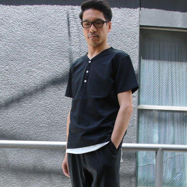 画像2: Coolmax(クールマックス)鹿の子 Vヘンリー S/STee【MADE IN JAPAN】『日本製』/ Upscape Audience