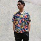 More photos1: Pineapple Juice(パイナップルジュース)アロハシャツ【MADE IN U.S.A】『米国製』/デッドストック