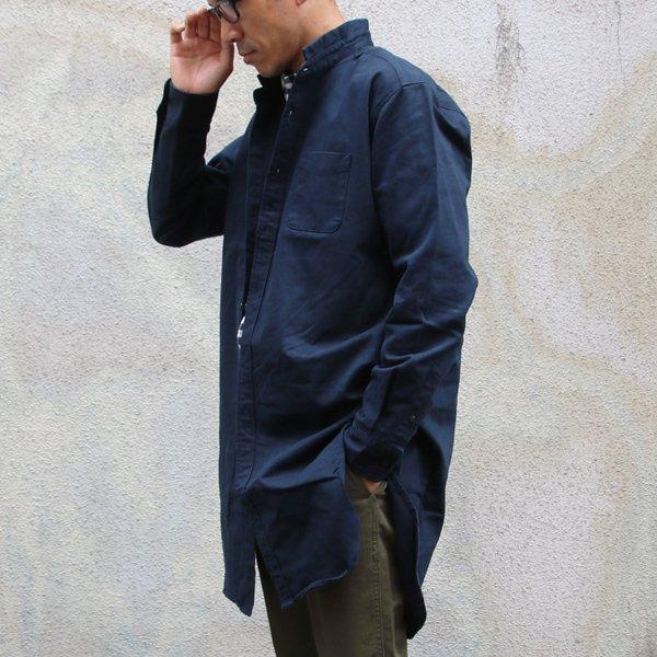 画像2: ピーチ起毛ツイル ローマシャツコート【MADE IN JAPAN】『日本製』/ Upscape Audience