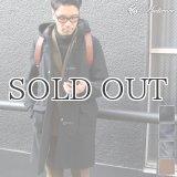 610g ウールメルトンロングダッフルコート 【送料無料】 / Audience