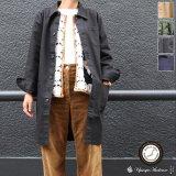 ヘビーオックスカバーオールステンカラーコート[Lady's]【MADE IN JAPAN】『日本製』/ Upscape Audience