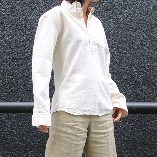 画像2: オックスナローカラーボタンダウンプルオーバーL/Sシャツ[Lady's]【MADE IN JAPAN】『日本製』/ Upscape Audience