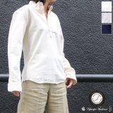 オックスナローカラーボタンダウンプルオーバーL/Sシャツ[Lady's]【MADE IN JAPAN】『日本製』/ Upscape Audience