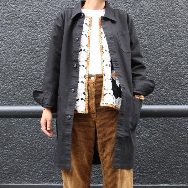 画像2: ヘビーオックスカバーオールステンカラーコート[Lady's]【MADE IN JAPAN】『日本製』/ Upscape Audience