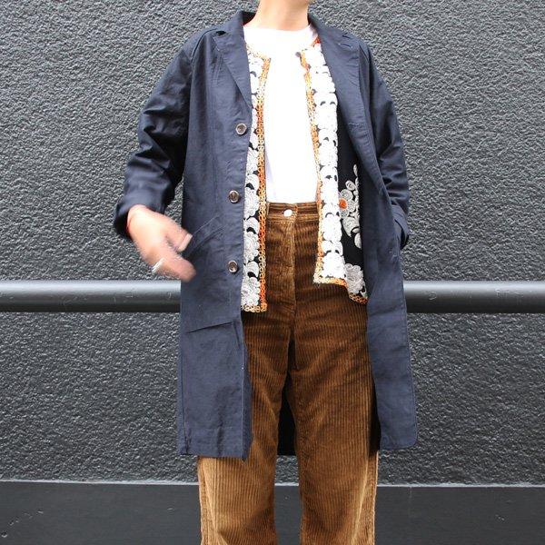 画像2: ヨコムラバックサテン 3Bクラークコート [Lady's]【送料無料】『日本製』/ Upscape Audience