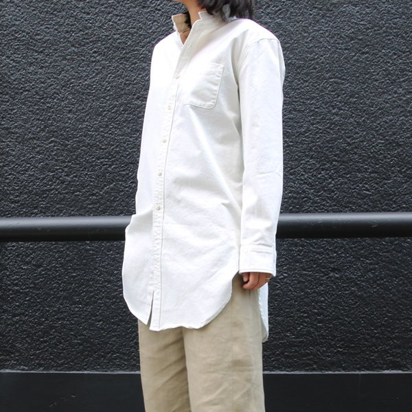 画像2: ピーチ起毛ツイル ローマシャツコート[Lady's]【MADE IN JAPAN】『日本製』/ Upscape Audience