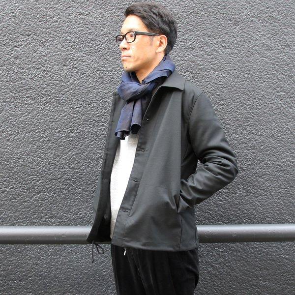 画像2: ギャバジンストレッチ コーチステンカラージャケット『日本製』【送料無料】  / Upscape Audience