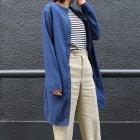 More photos2: コットンクロス 2WAYロングシャツ[Lady's]『日本製』Upscape Audience