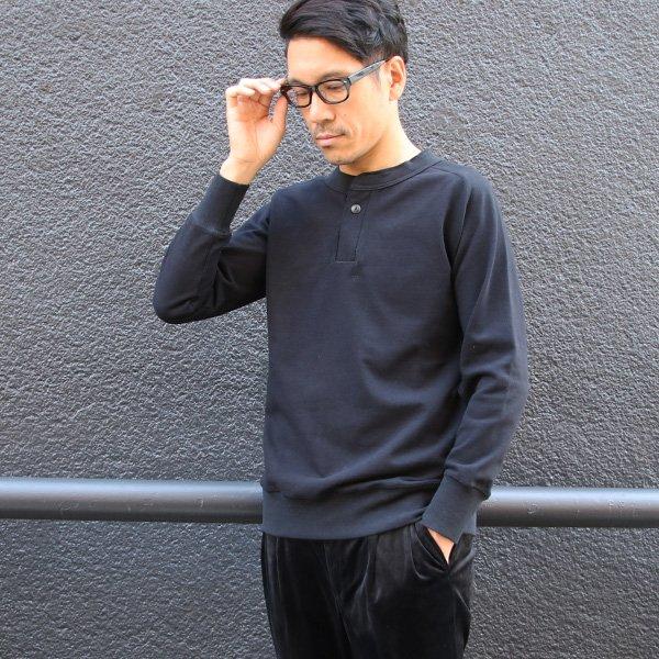 画像2: BSQ天竺フリーダムスリーブ1ボタンヘンリー9/S Tee【MADE IN JAPAN】『日本製』/ Upscape Audience