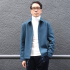 More photos2: 840gピュアウールメルトンコーチジャケット【送料無料】 / Audience