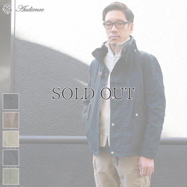 画像1: 高密度コットンピーチスタンドカラーN1ジャケット 【送料無料】 / Audience