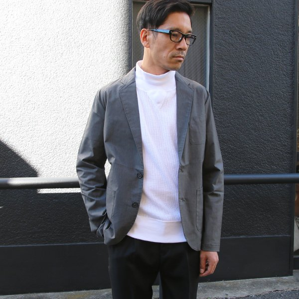 画像2: 馬布ストレッチ2Bテーラードジャケット【MADE IN JAPAN】『日本製』【送料無料】 / Upscape Audience