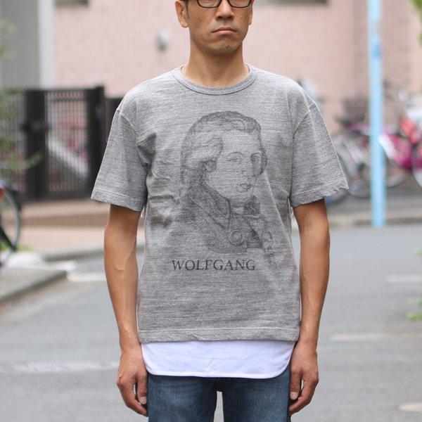 画像2: 16/1吊編天竺 C/N Wolfgang プリント S/S Tee【MADE IN TOKYO】『東京製』/ Upscape Audience【ご予約・4月中旬入荷予定】