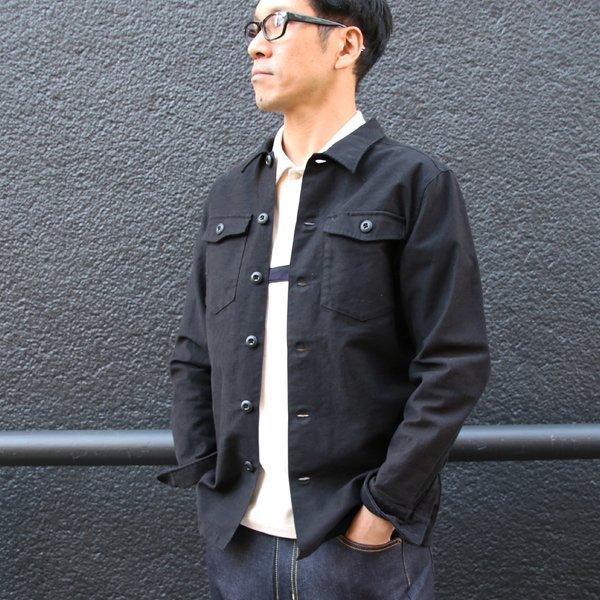 画像2: パウダースノーバックサテン ファティーグジャケット【MADE IN JAPAN】『日本製』 / Upscape Audience