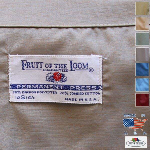 画像1: 80's FRUIT OF THE LOOM L/S Shirt【MADE IN U.S.A】『米国製』/デッドストック