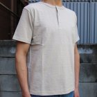 More photos3: Riding High / LOOPWHEEL HENLEY S/S T-SHIRTS【MADE IN JAPAN】『日本製』  / Riding High